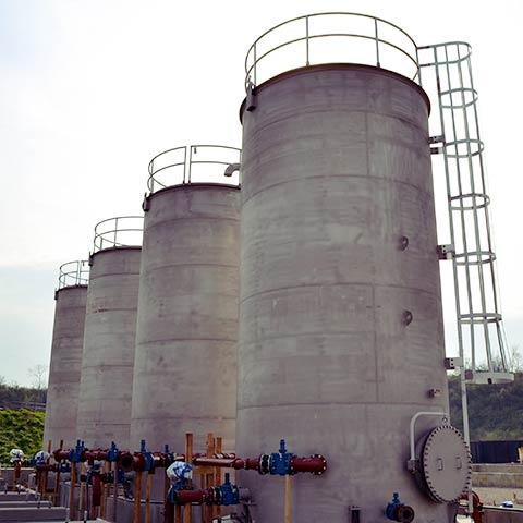 API Vertical Storage Tank